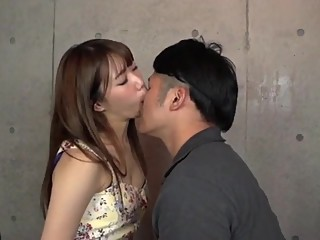 Japanese Young Girl Licking And Sucking boy's nose