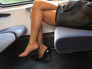Heel and Pantyhose