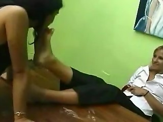 Brazilian Girls Playing With Feet - 10