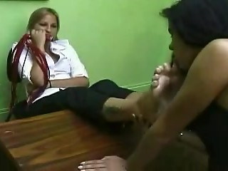 Brazilian Girls Playing With Feet - 11