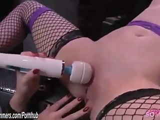 Bound and orgasmed