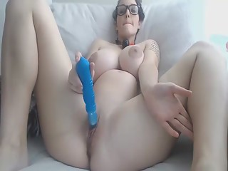 fabulous boobs girl dildoing on cam vr88.