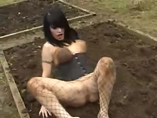 Slut Fucked and Humiliated in Mud