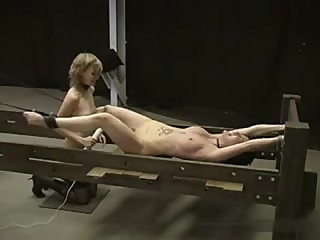 Female tease and denial punished after every edge
