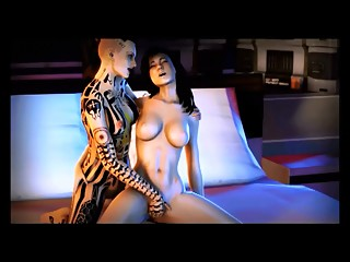 Mass Effect - Miranda and Jack romance - Compilation