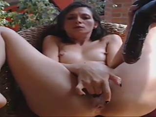 small tits big toy