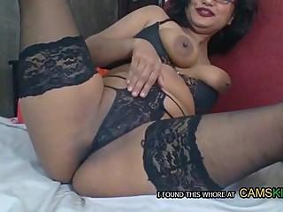 indian punjabi aunty on webcam from omegle