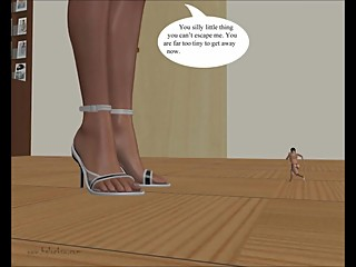 Giantess Comic