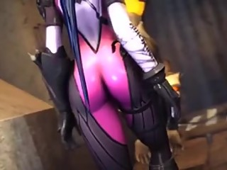 Overwatch Widowmaker and Tracer Fuck