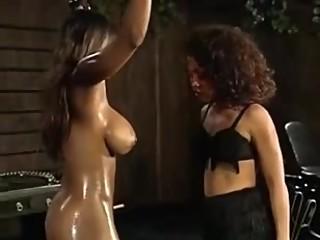 Ebony BDSM