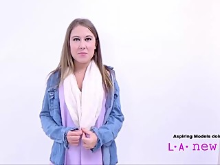 CUTE TEEN TRICKED INTO LESBIAN CASTING AUDITION