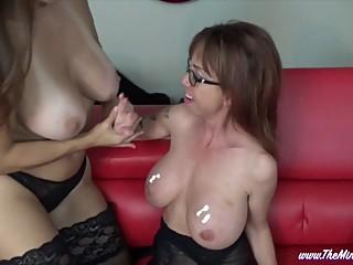 Playing with Huge Tits MINDI MINK