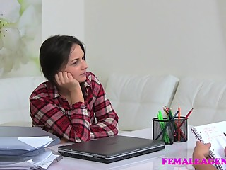FemaleAgent Mutual masturbation and lesbian sex