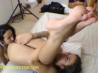 Lesbian Pussy and Ass Licking