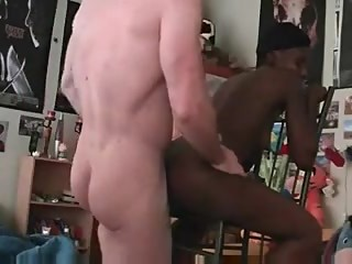 Amateur Black Girl Fucked From Behind By A White Dude