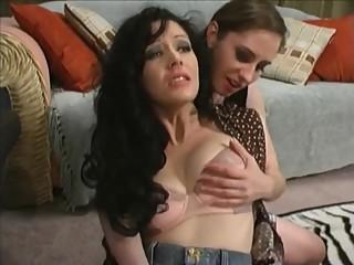 Lesbian College Study Session