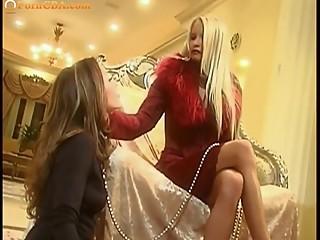 Angel -  Lesbian slave