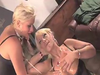 Two nasty lesbians get messy