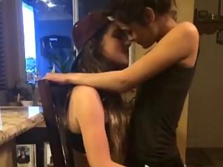 lesbian lap dance :)