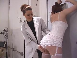 Lesbian slut punished