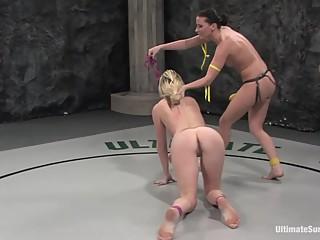 Ariel X Lesbian Wrestling
