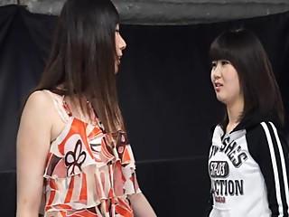 Japanese Girl Nude Wrestling (P2)