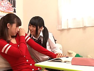 AP-074 Lesbian Check Whether Straight