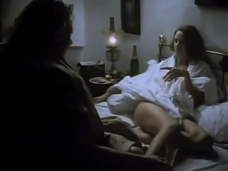 Cathryn Harrison suck Janet McTeer toe in Portrait of a Marriage (1990)