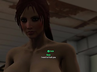 Fallout 4 Three Nude Girls Playing Dirty!!!