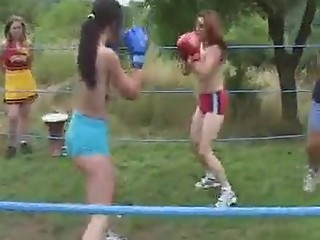 real girls boxing